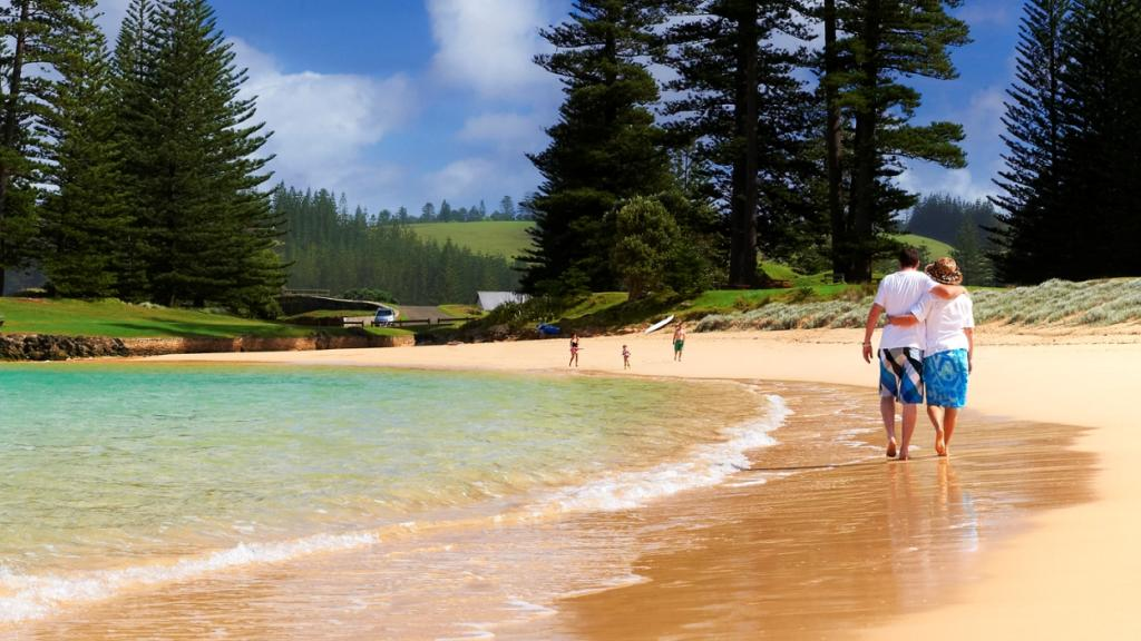 South Pacific Norfolk Island